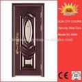 Venta de la navidad puerta de hierro forjado fotos SC-S069
