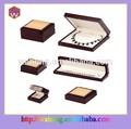 Dobrável de madeira caixa de jóias, jóias caixa de espuma( wh- 0058)