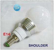 Christmas holiday light 3w rgb led memory functional E14 LED light bulb with 24 keys remote control