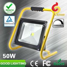 Goodlighting portable hurricane lantern 50w rechargeable led magnetic work light