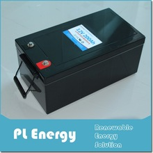 deep cycle lithium ion battery solar 200ah 12v lifepo4 with bms