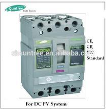 4P DC MCCB 400A MOulded Case Circuit Breaker