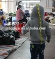L'hiver à tricoter kid 2015 manches longues pull pour 0-3 ans jacquard cardigan à capuche avec fermeture à glissière vente chaude