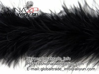 Leading feathers supplier in China Factory Wholesale Black Marabou Feather Boa