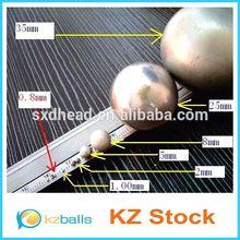 Automotive applications unpolished 0.5-70mm aluminum ball beads