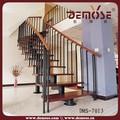 Modelos de escadasinteriores/economizando espaço escadas/espiral escada de metal
