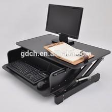 Aluminum computer desk table laptop desk laptop tray