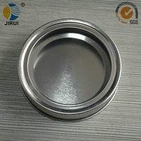 70mm silver two-piece screw metal lug cap for manson jar