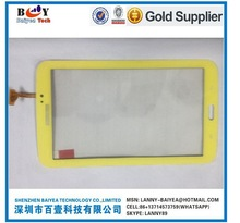 For Samsung T210 Touch Yellow