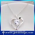 2014 moda bigiotteria ingrosso alibaba le immagini di diamante con argento cuore