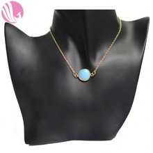 Fashion Crystal stone gemstone evod necklace lariat necklace pictures of fashion necklaces