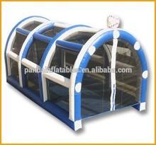 Goal net Type baseball batting cage netting,PVC netting inflatable batting cage