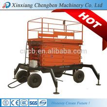 Stabile unità martinetto idraulico verticale/cinese ascensori forbici