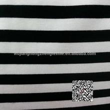 100%Polyester taslon fabric for sportswear / Stripe printed Jacket Taslon fabric