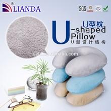 2014 Fashion Design Plush Neck Pillow/U-Shape Travel Pillow