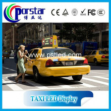TOP design Mobile TAXI p5 led display/ led advertising display screen