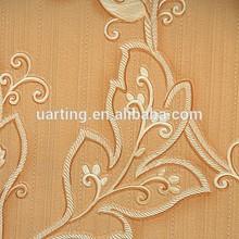 luxury embossed flower wallpaper decor