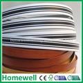 1 mm del grano de madera decorativa banda para muebles