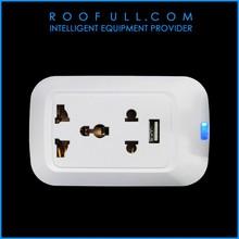 New Wifi Smart Wall Socket Wifi Light Socket Adapter from Roofull