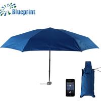 Aluminum Tiny Light Portable Fashion Lady Handbag 5 Folding Umbrella
