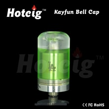 top sale and wonderful design of the kayfun bell cap and flash e-vapor v3 atomizer