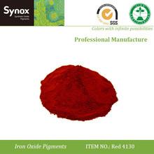 concrete color pigments iron oxide Red