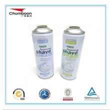 Shoes care products/empty aerosol spray can with CMYK