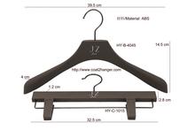 Metal hooks garment plastic hangers wholesale