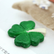 2014 new product resin four leaf clover home decoration