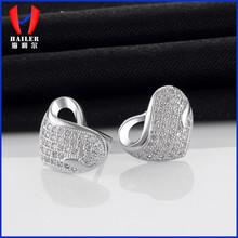 Cheap 925 silver eardrop,stainless steel earrring