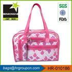 promotional fashion big zipper cosmetic bag / cosmetic bag nylon