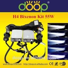 H4 Bi-xenon Kit HID Hi/Lo Kit H4 Bi xenon HID Kit 6000K 55Watt