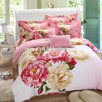 bridal 3d printing bedding Wholesale Bedding set 100% cotton 3d bed linen