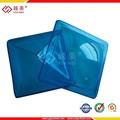 Cúpula lucernario de policarbonato UV