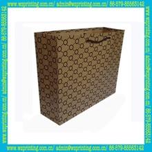 china alibaba custom brown kraft paper basketball shoe bag