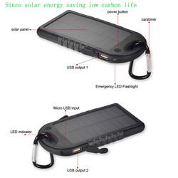 Guangdong Factory supply Portable solar power bank for samsung galaxy tab