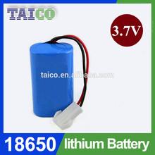 Lithium rechargeable 3.7v battery 4500mah for LED light