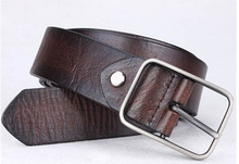 2015 Fashion Style Cowhide Geniune Leather Belt