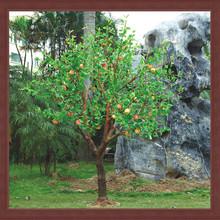 artificial fruit tree light christmas and garden decoration apple tree lights china supplier zhongshan