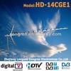 High Gain Ch.13-69 Outdoor digital DVB antenna model.HD-14CGE1
