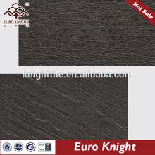 glazed black and white self adhesive vinyl floor tile of full body tile