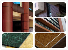 2mm-8mm exterior wood wall panels,aluminium composite material(acm), aluminium composite panel/acp sheet