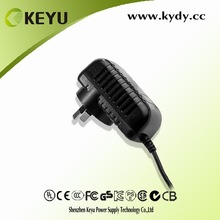 C-TICK CE GS KC PSE approved ac dc 12v 1a power supply for set top box