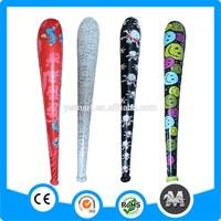 Eco-friendly PVC inflatable plastic baseball stick