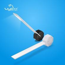 Modern design led lamp aluminum led desk lamp touch usb port led desk lamp with outlet in base
