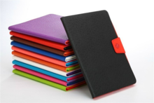 Hot sale colorful leather tablet case for ipad 6 tablet cover accessories wholesale
