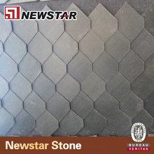 Newstar natura black slate stone roofing tile