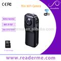 Mini tipo de vídeo e áudio caminhão Internet WiFi HD Candid Camera