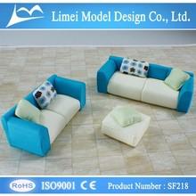 ho mini model sofa/architectural model sofa for Indoor scale model