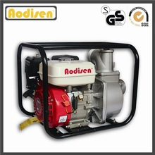 reliable 3 inch 80mm Aodisen GP80, 168F-1 6.5hp GX200 honda engine, 196cc displacement WP30 gasoline mini water pump